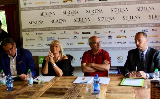 Conferenza Stampa di presentazione degli Internazionali di Tennis di Cortina